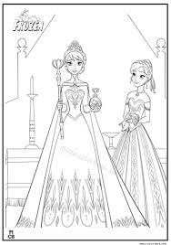 Frozen Free Coloring Pages Elsa Frozen Free Coloring Pages