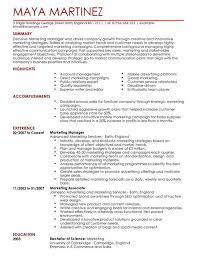 Digital Content Manager Resume Marketing Manager Cv Example For Marketing Livecareer