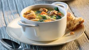 Italian Soup by Tuscan White Bean Soup With Italian Sausage Clean Eating Magazine