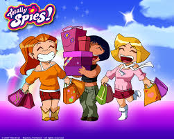 totally spies shopping love totallly spies geekish