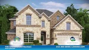Lennar Homes Floor Plans by The Shenandoah Next Gen Home Vista Collection Lennar San