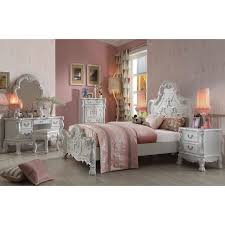 Victorian Bed Set by 30665 Dresden Teenage Bedroom Set Antique White Finish Victorian Style
