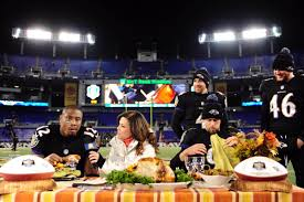thanksgiving today special afc north report ravens eat turkey on thanksgiving