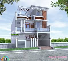 Home Design For 30x60 Plot 2600 Sq Ft Cute Decorative Contemporary Home Kerala Home Design