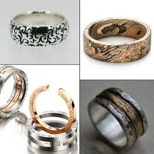 unique wedding rings for 20 refreshingly unique wedding rings for men