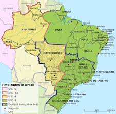 Utc Time Zone Map by File Time Zones In Brazil En Png Wikimedia Commons