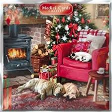 medici charity christmas cards cosy christmas 5330 pack of 8