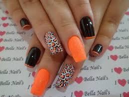 imagenes de uñas decoradas de jalowin uñas acrilicas para halloween blanco y negro pinterest