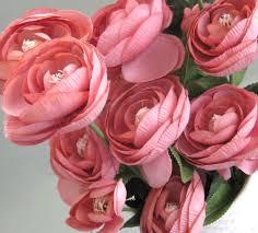 wedding flowers estimate pink ranunculus silk flower decor artificial flower supplies