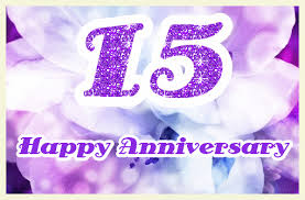 happy 15th wedding anniversary ecards greetingshare