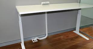 how to cable manage a desk cable management for workplaces worktools new zealand