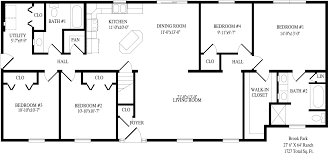 Modular Homes With Basement Floor Plans Brook Park Ranch Style Modular Homes