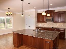 kitchen ideas with cherry cabinets kitchen kitchen cabinets traditional wood cherry color