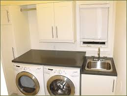 White Laundry Room Cabinets by Laundry Room Table Idea Inviting Home Design
