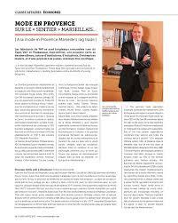chambre syndicale de l habillement marseille cote marseille provence n 143 mar avr 2013 page 62 63 cote