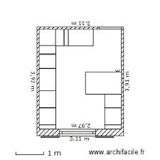 plan cuisine 11m2 cuisine 1 plan 1 pièce 11 m2 dessiné par mardel