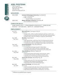 Resume Samples For Interior Designers Resume Examples For Web Design