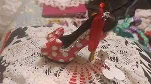 new disney parks princess cinderella shoe heel ornament