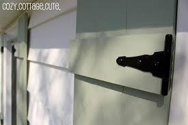 diy shutters add curb appeal