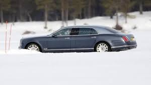 bentley mulsanne extended wheelbase price bentley mulsanne lwb spied for the first time