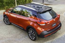 nissan orange nissan kicks b segment crossover makes us debut