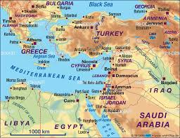 Map Of The Red Sea Map Of Mediterranean Sea East Several Countries Map In The