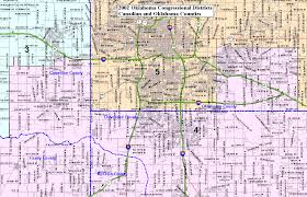 okc zip code map oklahoma state senate senators