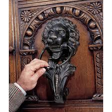 lion door knocker large lion door knocker