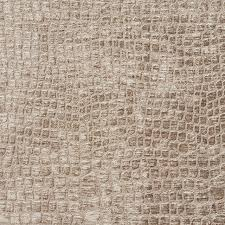 Alligator Upholstery Platinum Alligator Print Shiny Woven Velvet Upholstery Fabric By
