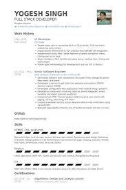 Ux Designer Resume Sample Gui Designer Resume Jennifer Garnett Resume Uiux Designer