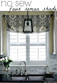 Window Treatment Ideas For Kitchens Kitchen Window Curtain Ideas Collection In Curtains For