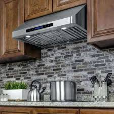 stainless steel under cabinet range hood 30 under cabinet range hood stainless steel stainless steel inch