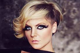 curly shaved side hair cute short curly hair short hairstyles 2016 2017 most