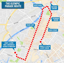 Flybe Route Map by Thousands Gather In Manchester To Honour Britain U0027s Most Successful
