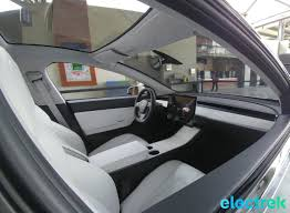 new tesla model 3 interior shot u2013 probably the highest quality yet