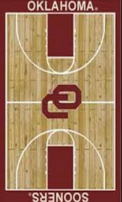 basketball court oklahoma sooners b ball sport rug specials sport
