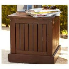 umbrella stand side table chesapeake umbrella stand side table by potterybarn olioboard