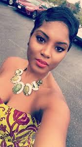 ghana woman hair cut ghana beaut pixie cut short hair black women hairstyle ayemina