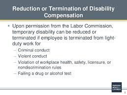 light duty at work rules workers compensation in utah