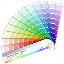 palette pantone pantone color palette stock vector scanrail 4541532