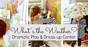 Weather Dramatic Play Dress Up Activity