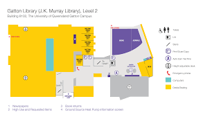 floor plan loan uq gatton library j k murray library library university of