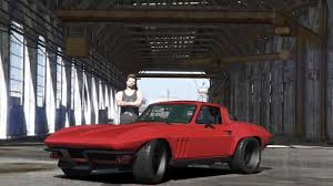 fast and furious corvette vehicle wip release 1966 chevrolet corvette stingray from f f8