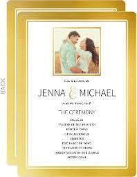 Wedding Programs Wedding Programs U0026 Wedding Ceremony Programs