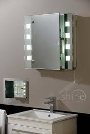 inspiration 80 bathroom mirror cabinet light shaver socket design