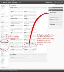tutorial wordpress blog wordpress tutorial how to use a text widget to customize a