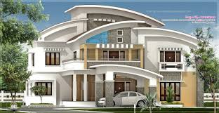 home pla square feet luxury villa exterior kerala home design floor plans