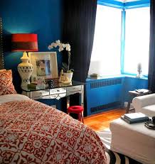 ideas for small spaces jewel tones in new york studio domino