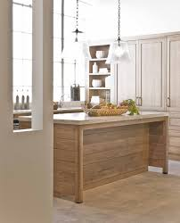 oak cabinets kitchen contemporary with wood floor quiet wall mount