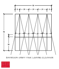 bathroom recessed lighting placement how to light a vanity correctly a lighting design how to